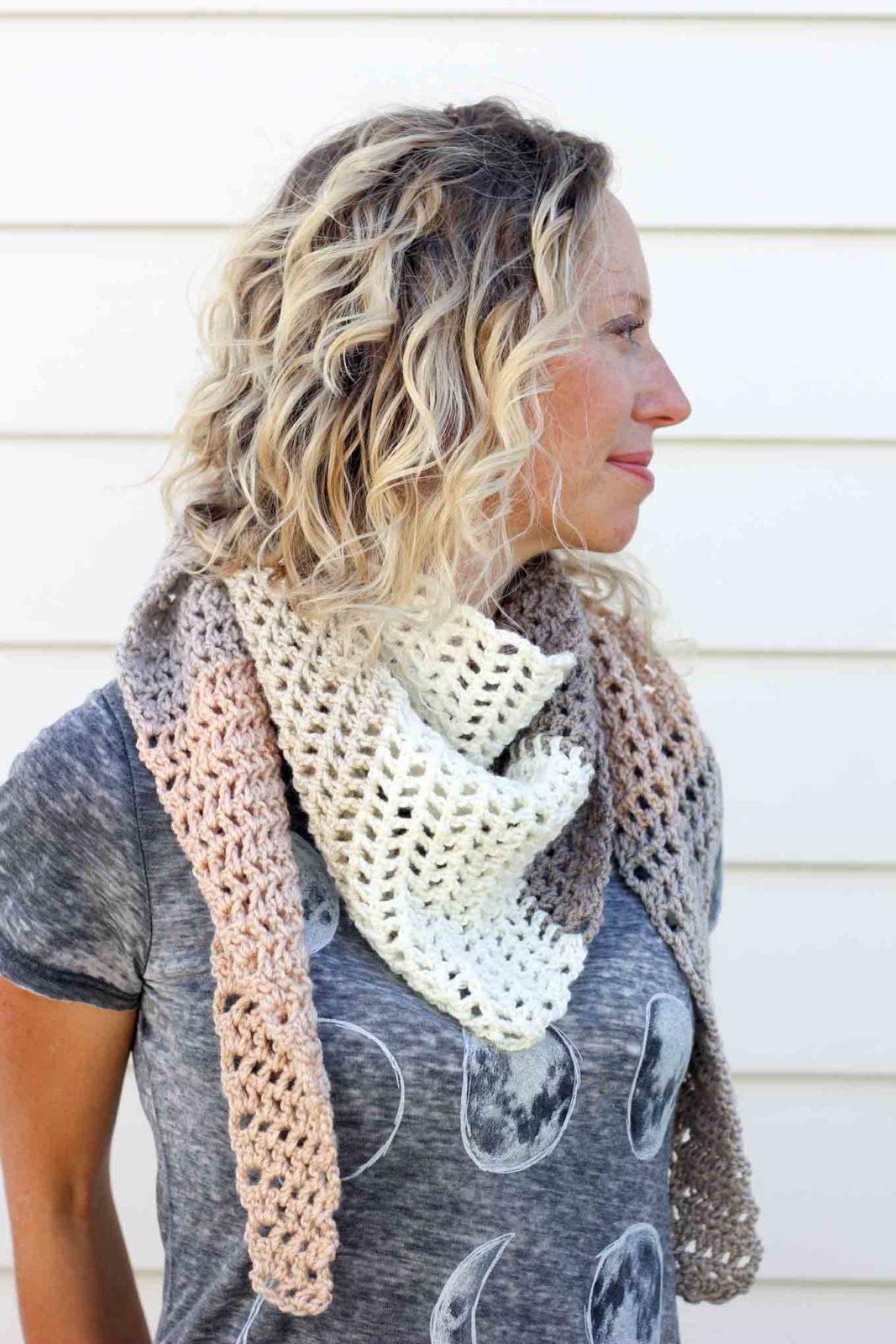 шарф схема с описанием