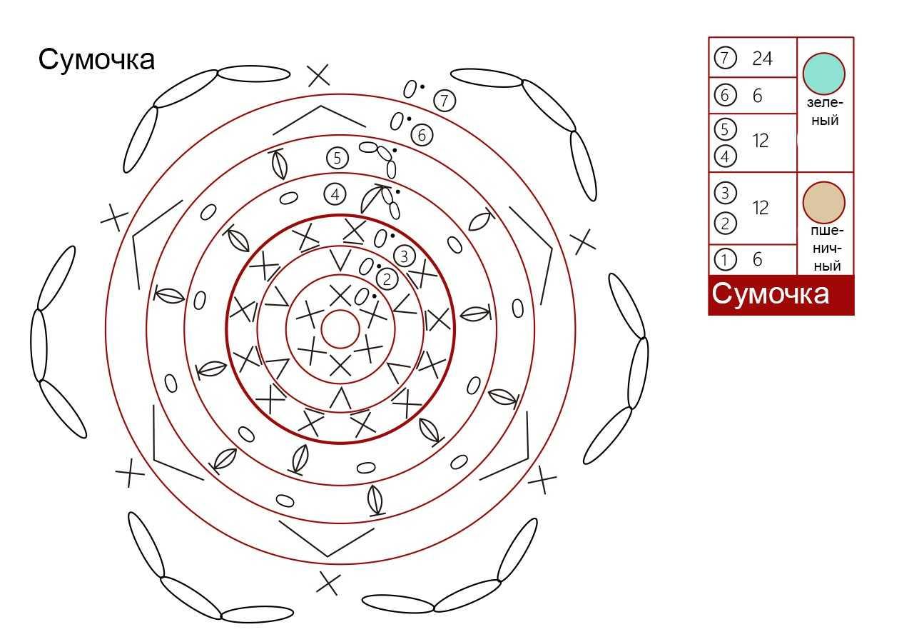 лиса амигуруми крючком схема