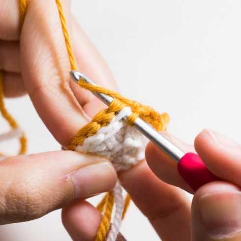 схема вязания лисички крючком
