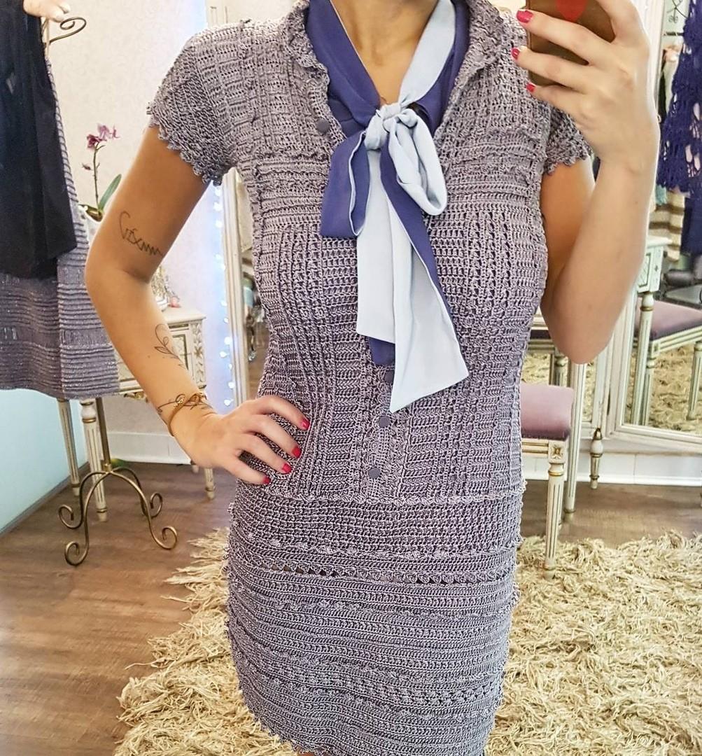 платье крючком от Ванессы Монторо