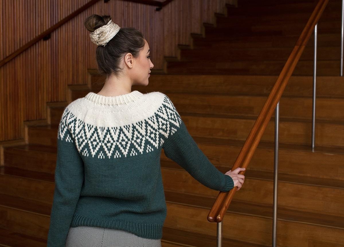 Жаккардовые свитера