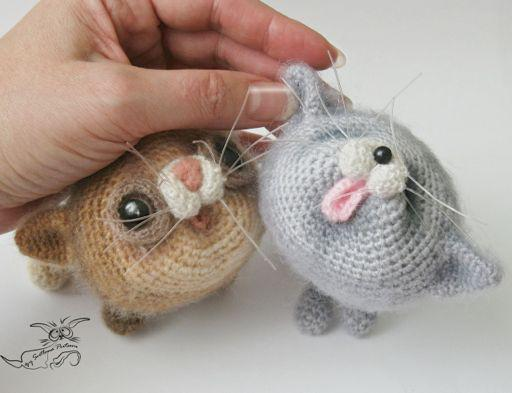 Котята амигуруми крючком